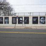 Photo Credit: NYC Commission on Human Rights Artist Tatyana Fazlalizadeh creates mural honoring community women in St. Albans, including Activist, Aiysha Jaggassar